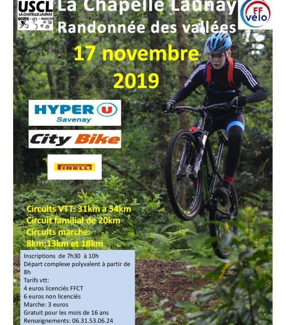 Les Randos du 17/11/2019